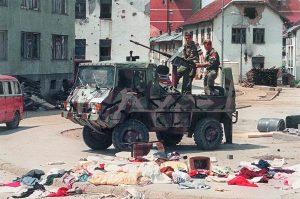 Četnici u Srebrenici