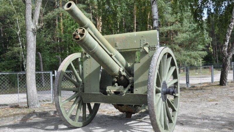 """""""Vintage Skoda houfnice vz 14"""" - planinska haubica koja je pružala podršku prilikom borbe sa pobunjenicima"""