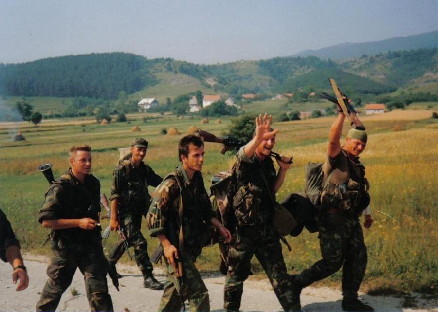 Pripadnici Hrvatske vojske u vrijeme operacije