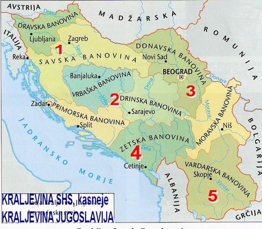 Banovine Kraljevine Jugoslavije