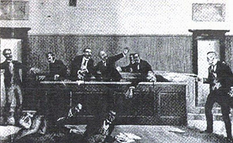 Atentat na hrvatske poslanike, od strane Puniše Račića