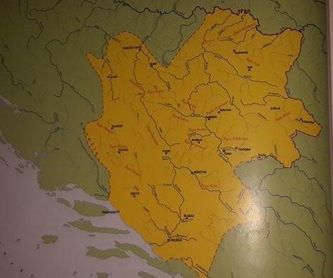 Teritorij Bosne u vrijeme bana Stjepana II Kotromanića