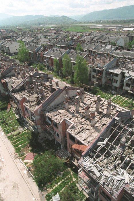 Posljedice borbi za Aeorodromsko naselje