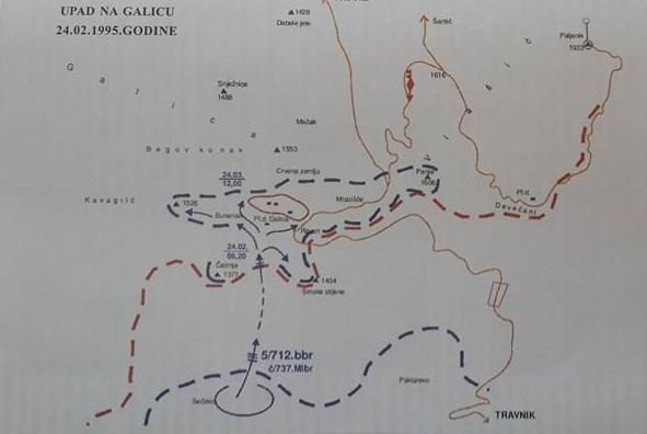 Dejstvo na Galici 24. februara 1995. godine