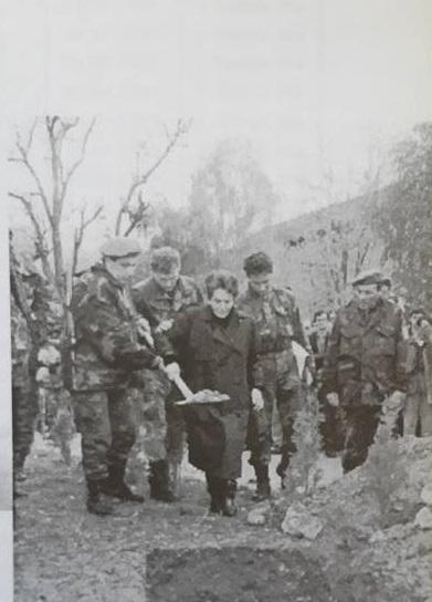 Sahrana poginulog pripadnika ARBiH u borbama za Vlašić