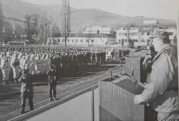 Smotra 7. korpusa u Travniku