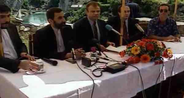 Susret iranske i bosanskohercegovačke delegacije u Mostaru, juli 1995. godine